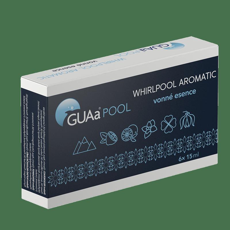GUAa POOL WHIRLPOOL AROMATIC SET - sada vonných esencí pro vířivé vany