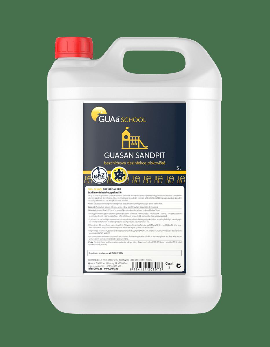 GUAa SCHOOL GUASAN SANDPIT 5 l - bezchlórová dezinfekce pískovišť