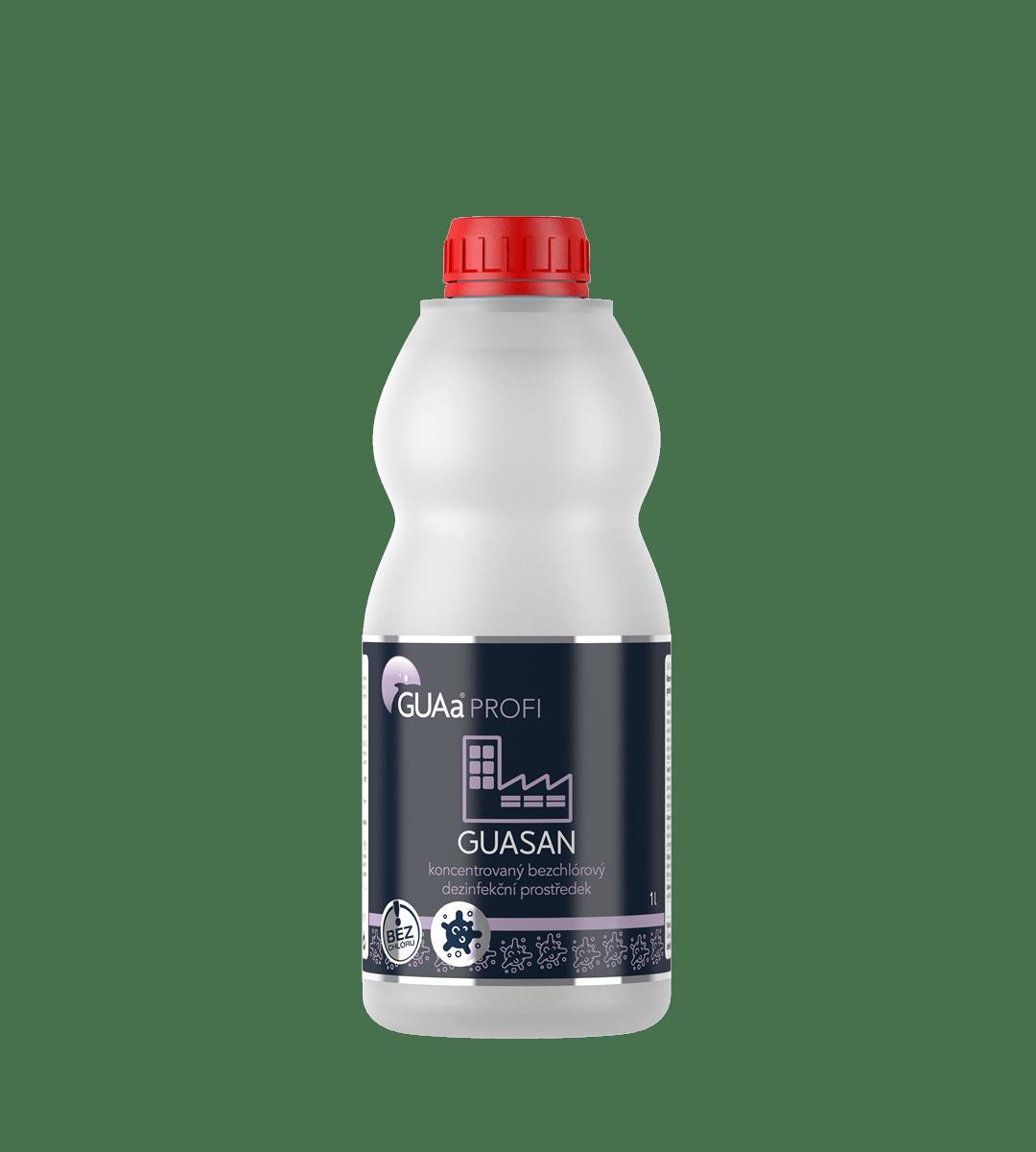 GUAa PROFI GUASAN 1 l - koncentrovaný bezchlórový dezinfekční prostředek