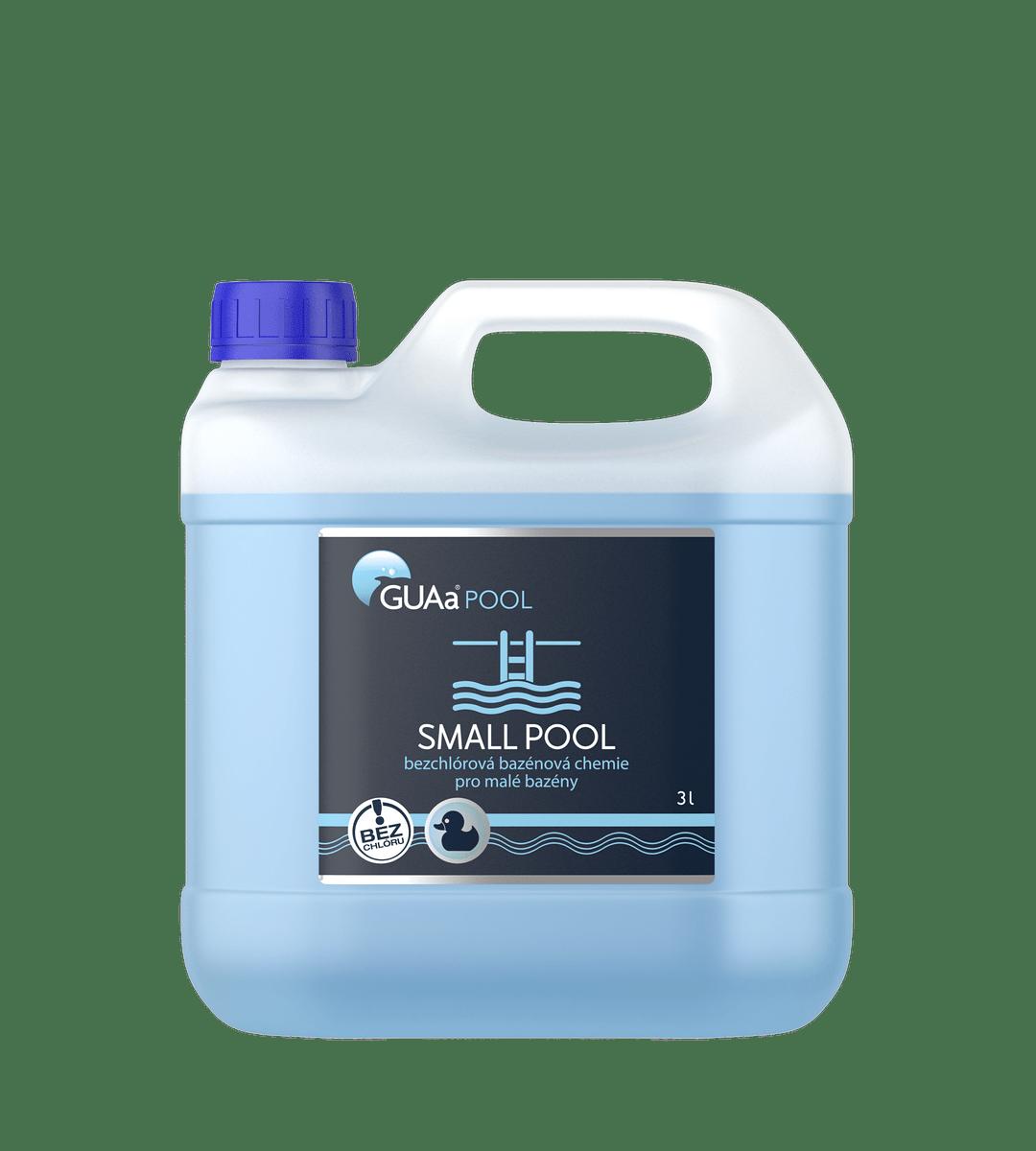GUAa POOL SMALL POOL 3 l - bezchlórová bazénová chemie pro malé bazény
