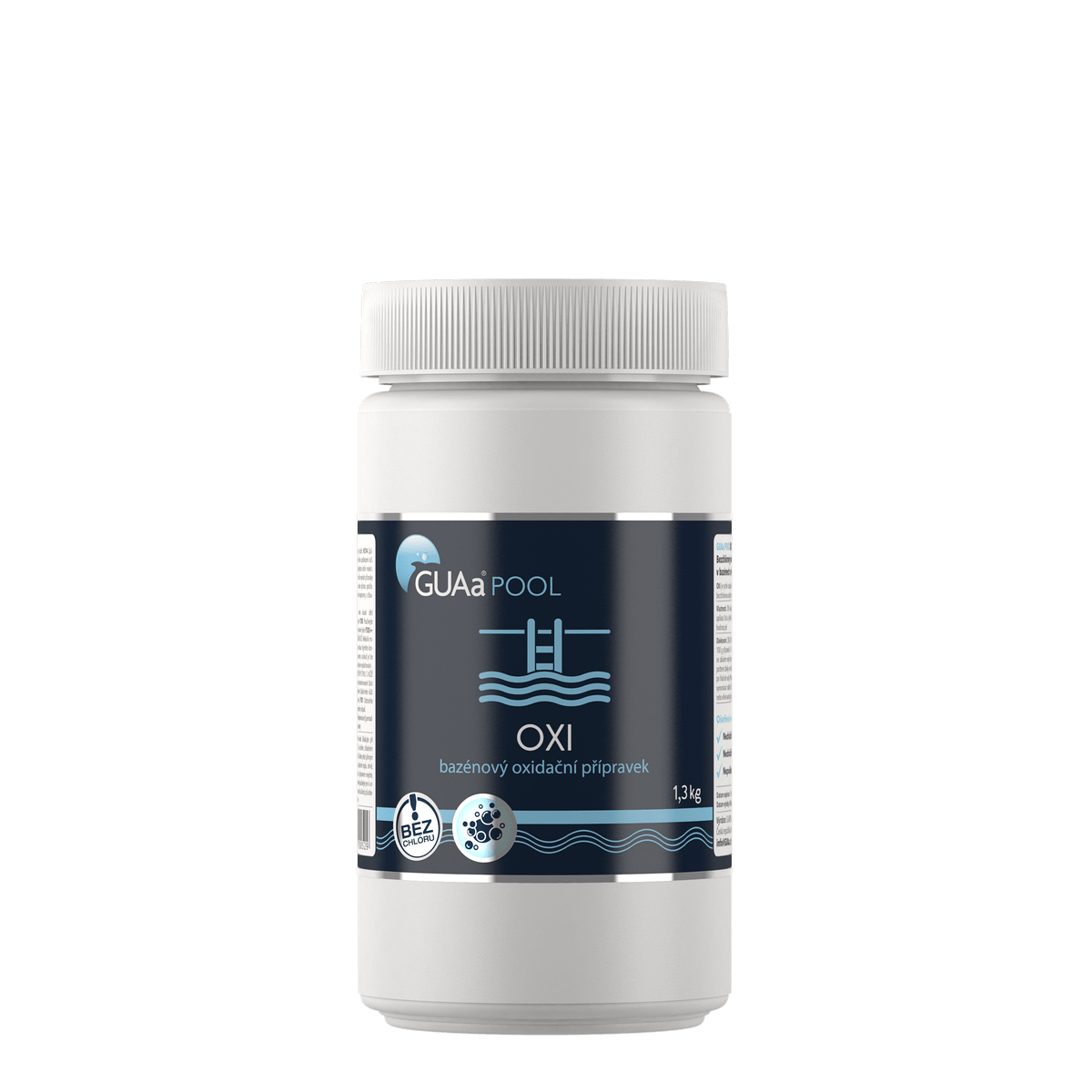 GUAa POOL OXI 1,3 kg - bezchlórový bazénový oxidační přípravek