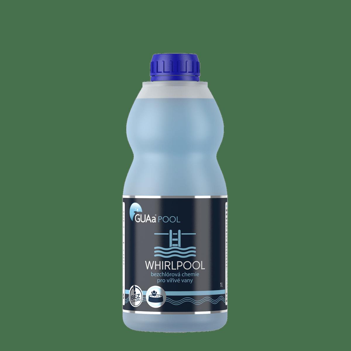GUAa POOL WHIRLPOOL 1 l - bezchlórová chemie pro vířivé vany