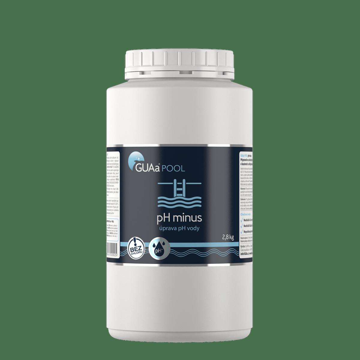 GUAa POOL pH minus 2,8 kg - úprava pH vody